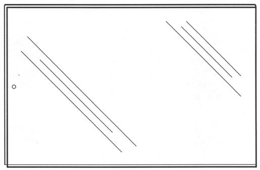26057, Folded Sign Holders - Single Fold